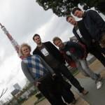 Taustalla Tokyo Tower